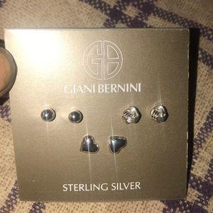 Sterling silver set go 3 Earrings